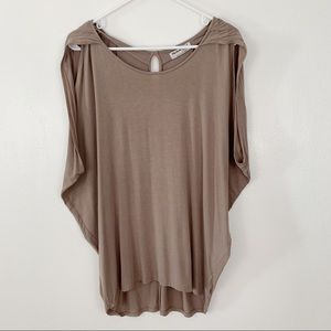 Michael Stars Rayon wide dolman top